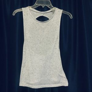 Heathered Athletic Tank Top